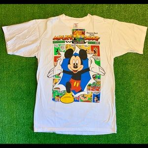 NWT! 90s Sherry's Best Mickey Mouse T-shirt. Large